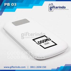 Power Bank Custom Putih Android