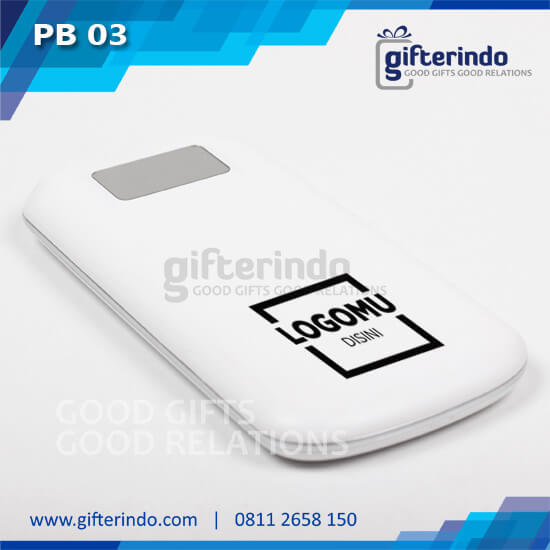 Power Bank Custom Putih Android